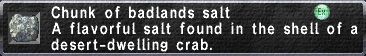 Badlands Salt