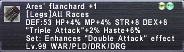 Ares' Flanchard +1