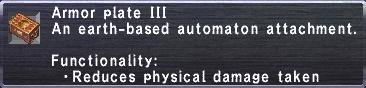 Armor Plate III