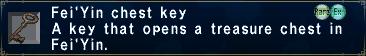 Fei'Yin Chest Key