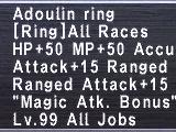 Seekers of Adoulin Rings