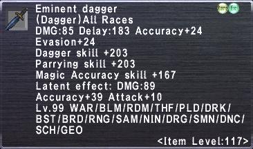 Eminent Dagger