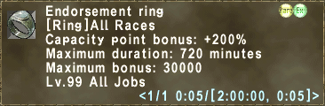Endorsement Ring