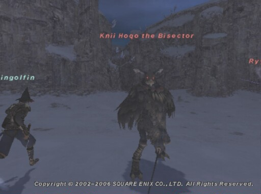 Knii Hoqo the Bisector