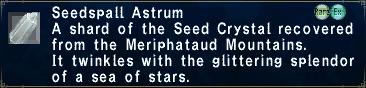 Seedspall Astrum