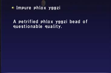 Impure phlox yggzi