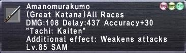 Amanomurakumo (85)