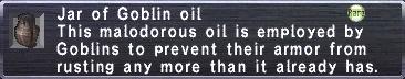 Goblin Oil