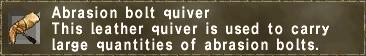 Abrasion Bolt Quiver