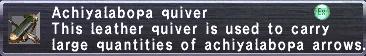 Achiyalabopa Quiver