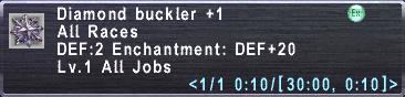 Diamond Buckler +1
