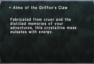 Atma of the Griffon's Claw