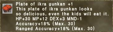 Ikra Gunkan +1