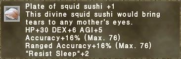 Squid Sushi +1