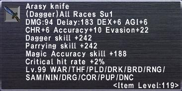 Arasy Knife