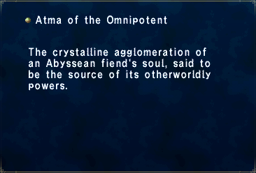 Atma of the Omnipotent