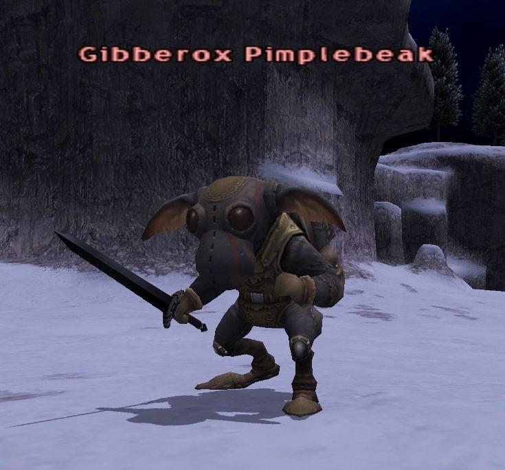 Gibberox Pimplebeak