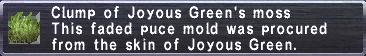 Joyous's Moss