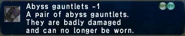 Abyss Gauntlets -1