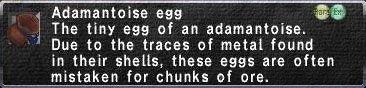 Adamantoise egg