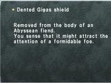 Dented Gigas shield