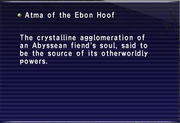 Atma of the Ebon Hoof