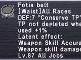 Fotia Belt