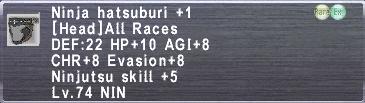 Ninja Hatsuburi +1