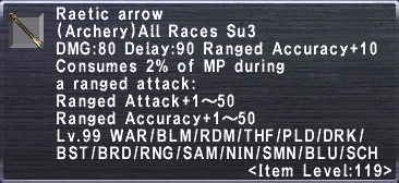 Raetic Arrow