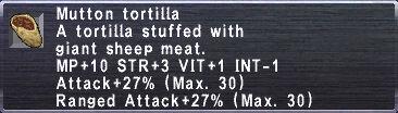 Mutton Tortilla