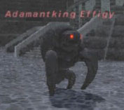Adamantking Effigy