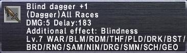 Blind Dagger +1