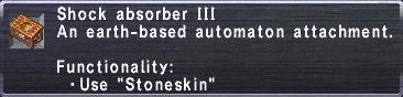 Shock Absorber III