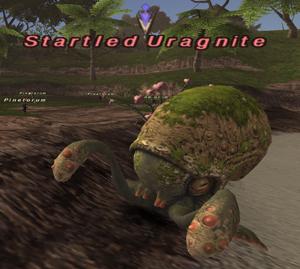 Startled Uragnite