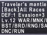 Traveler's Mantle