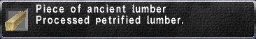 Ancient Lumber