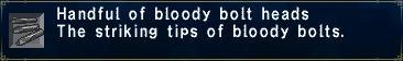 Bloody Bolt Heads