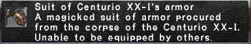 Centurio's Armor