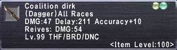 Coalition Dirk