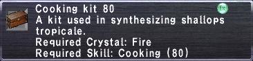 Cooking Kit 80