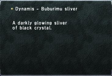 Dynamis - Buburimu Sliver