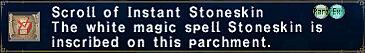 Scroll of Instant Stoneskin