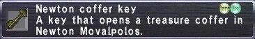 Newton Coffer Key