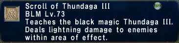 Scroll of Thundaga III