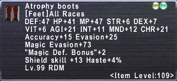 Atrophy Boots