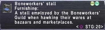 Boneworkers' Stall