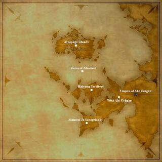 Le continent d'Aradjiah