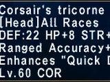 Corsair's Tricorne