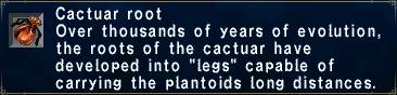 Cactuar Root
