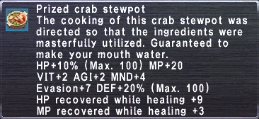 Prized Crab Stewpot